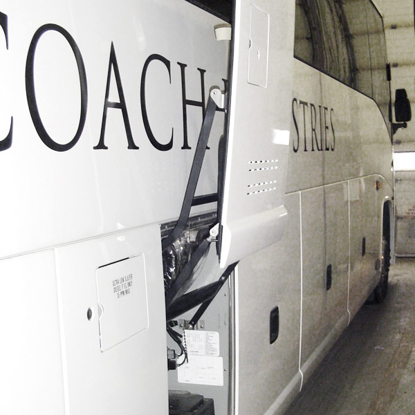 Motor Coach Industries Baggage Door
